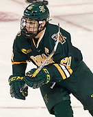 Brendan Bradley (UVM - 20) - The visiting University of Vermont Catamounts tied the Boston College Eagles 2-2 on Saturday, February 18, 2017, Boston College's senior night at Kelley Rink in Conte Forum in Chestnut Hill, Massachusetts.Vermont and BC tied 2-2 on Saturday, February 18, 2017, Boston College's senior night at Kelley Rink in Conte Forum in Chestnut Hill, Massachusetts.