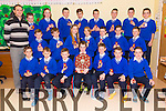 Sliamh A'Madra Ballyduff  won the North Kerry Final of Cumann na mBunscol (6-8 Teacher category). THE Team were presented with medal at an awards mass on Thursday