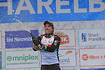 Winner Fabian Cancellara (SUI) Radioshack Leopard Trek on the podium at the end of the 56th edition of the E3 Harelbeke, Belgium, 22nd  March 2013 (Photo by Eoin Clarke 2013)