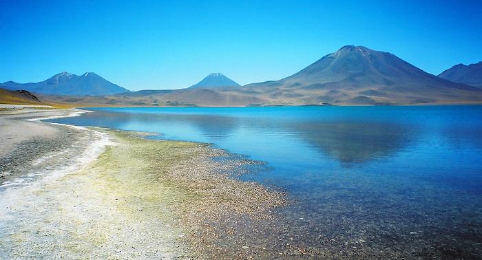 Miscanti Lagoon / Atacama desert / Chile.