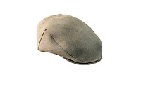 Studio Photograph of the Fox Derby Tweed Flat Cap