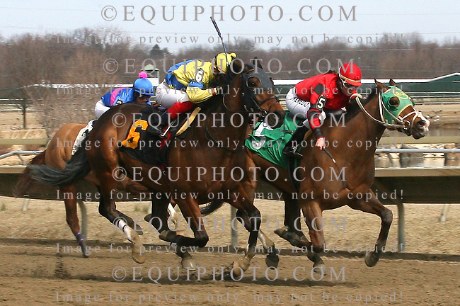 Maria Remedio at Parx Racing in Bensalem, Pennsylvania March 10, 2012.  Photo By EQUI-PHOTO
