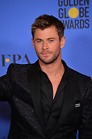 Chris Hemsworth at the 75th Annual Golden Globe Awards at the Beverly Hilton Hotel, Beverly Hills, USA 07 Jan. 2018<br /> Picture: Paul Smith/Featureflash/SilverHub 0208 004 5359 sales@silverhubmedia.com