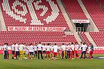 Maizer Schlussjubel nach dem Klassenerhalt<br /> <br /> <br /> Sport: nphgm001: Fussball: 1. Bundesliga: Saison 19/20: 33. Spieltag: 1. FSV Mainz 05 vs SV Werder Bremen 20.06.2020<br /> <br /> Foto: gumzmedia/nordphoto/POOL <br /> <br /> DFL regulations prohibit any use of photographs as image sequences and/or quasi-video.<br /> EDITORIAL USE ONLY<br /> National and international News-Agencies OUT.