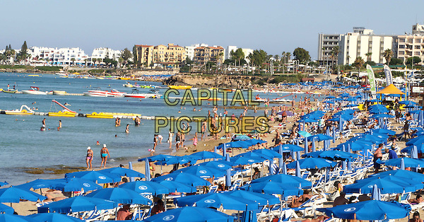Scenes in and around the beach resort of Protaras, Cyprus on July 2015<br /> CAP/ROS<br /> &copy;ROS/Capital Pictures