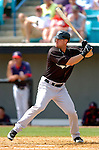 14 March 2006: Jeremy Hermida, outfielder for the Florida Marlins, at bat during a Spring Training game against the Washington Nationals. The Marlins defeated the Nationals 2-1 at Space Coast Stadium, in Viera, Florida...Mandatory Photo Credit: Ed Wolfstein..