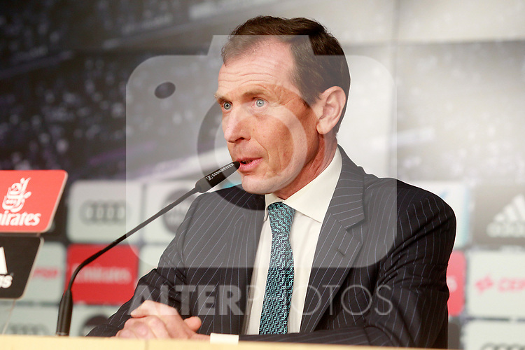 Real Madrid's Director of Institutional Relations Emilio Butragueno. July 10, 2017. (ALTERPHOTOS/Acero)