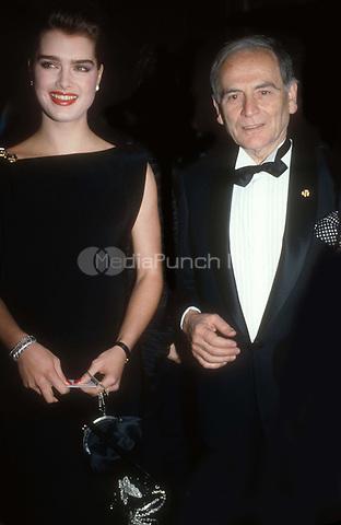 #BrookeShields #PierreCardin 1985<br /> Photo By Adam Scull/PHOTOlink.net / MediaPunch
