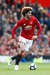 Marouane Fellaini of Manchester United during the English Premier League match at Old Trafford Stadium, Manchester. Picture date: April 16th 2017. Pic credit should read: Simon Bellis/Sportimage