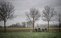 breakaway group<br /> <br /> 75th Omloop Het Nieuwsblad 2020 (1.UWT)<br /> Gent to Ninove (BEL): 200km<br /> <br /> ©kramon