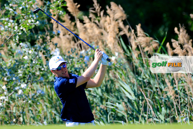 Matt Ford (ENG) during the second round of the Lyoness Open powered by Organic+ played at Diamond Country Club, Atzenbrugg, Austria. 8-11 June 2017.<br /> 09/06/2017.<br /> Picture: Golffile   Phil Inglis<br /> <br /> <br /> All photo usage must carry mandatory copyright credit (&copy; Golffile   Phil Inglis)