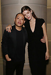 Jason Wu and Meghan Collinson  attends 2017 Dramatists Guild Foundation Gala reception at Gotham Hall on November 6, 2017 in New York City.