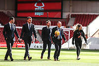 Todays match Officials inspect the pitch<br /> <br /> Photographer Rachel Holborn/CameraSport<br /> <br /> The EFL Sky Bet Championship - Nottingham Forest v Sheffield United - Saturday 3rd November 2018 - The City Ground - Nottingham<br /> <br /> World Copyright &copy; 2018 CameraSport. All rights reserved. 43 Linden Ave. Countesthorpe. Leicester. England. LE8 5PG - Tel: +44 (0) 116 277 4147 - admin@camerasport.com - www.camerasport.com