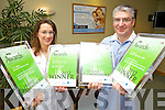 Hannah and Seamus Flynn from Flynn's Dental Surgery, NCR Tralee who won four national awards this week.