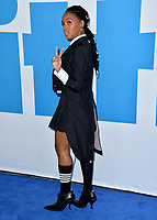 "LOS ANGELES, USA. April 08, 2019: Janelle Monae at the premiere of ""Little"" at the Regency Village Theatre.<br /> Picture: Paul Smith/Featureflash"