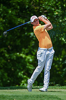 Matt Fitzpatrick (ENG) watches his tee shot on 6 during round 2 of the 2019 Charles Schwab Challenge, Colonial Country Club, Ft. Worth, Texas,  USA. 5/24/2019.<br /> Picture: Golffile   Ken Murray<br /> <br /> All photo usage must carry mandatory copyright credit (© Golffile   Ken Murray)