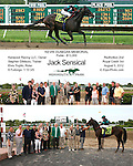 Monmouth Park Win Photos 08-2012