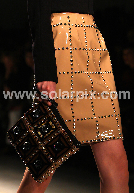 **ALL ROUND PICTURES FROM SOLARPIX.COM**                                             **WORLDWIDE SYNDICATION RIGHTS**                                                                                  Holly Fulton's collection during London Fashion Week A/W 2011 at Somerset House in London, UK on 21th February, 2011                                                                          This pic:       Holly Fulton catwalk                                                                                       JOB REF:     12858   MLW       DATE:     21.02.11                                                       **MUST CREDIT SOLARPIX.COM OR DOUBLE FEE WILL BE CHARGED**                                                                      **MUST AGREE FEE BEFORE ONLINE USAGE**                               **CALL US ON: +34 952 811 768 or LOW RATE FROM UK 0844 617 7637**