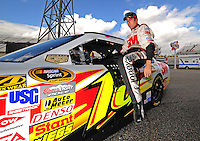 Sept. 19, 2008; Dover, DE, USA; Nascar Sprint Cup Series driver Greg Biffle during qualifying for the Camping World RV 400 at Dover International Speedway. Mandatory Credit: Mark J. Rebilas-