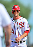 4 March 2012: Washington Nationals outfielder Bryce Harper in action during a Spring Training game against the Houston Astros at Space Coast Stadium in Viera, Florida. Harper went 1 for 2 as the Astros defeated the Nationals 10-2 in Grapefruit League action. Mandatory Credit: Ed Wolfstein Photo