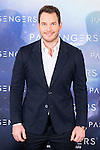 "American actor Chris Pratt attends to the presentation of the american film ""Passengers"" at Hotel Villa Magna in Madrid, Spain. November 30, 2016. (ALTERPHOTOS/BorjaB.Hojas)"