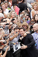 "Australian actor Hugh Jackman posses in the photocall of the ""Prisioners"" film presentation during the 61 San Sebastian Film Festival, in San Sebastian, Spain. September 27, 2013. (ALTERPHOTOS/Victor Blanco) <br /> San Sebastian Film Fest <br /> Foto Insidefoto"