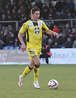 Kenny McLean in the Ross County v St Mirren Scottish Professional Football League match played at the Global Energy Stadium, Dingwall on 17.1.15.