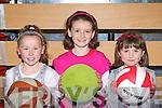 Chloe O'Connor, Kelly O'Connor and Lisa O'Halloran Firies having fun at the Killarney Swim academy graduation in Killarney Sports and Leisure complex on Saturday.