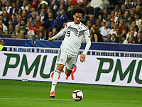 Leroy Sane (Deutschland Germany)- 16.10.2018: Frankreich vs. Deutschland, 4. Spieltag UEFA Nations League, Stade de France, DISCLAIMER: DFB regulations prohibit any use of photographs as image sequences and/or quasi-video.