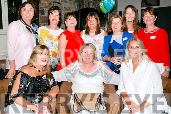 At the Balloonagh Secondary School Class of 1987 at The Ashe Hotel on Saturday were front l-r Siobhan Hussey, Irene O'Grady, Rose Dillon Back l-r Marion Boyle, Kerry Griffin, Theresa Murphy, Denise Murphy, Elma McMahon, Moira McMahon, Mary Culloty