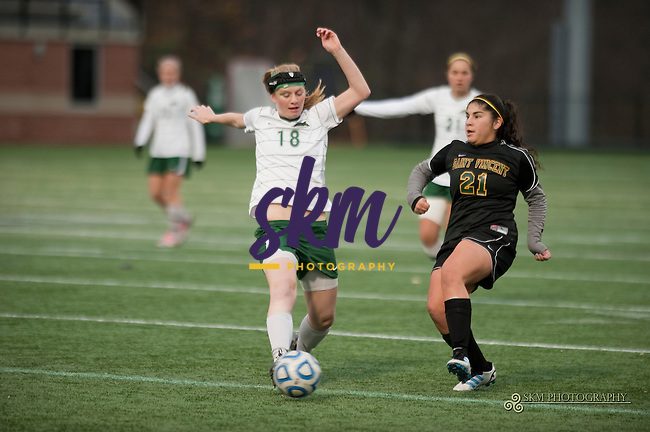 In the first round of the ECAC South, Stevenson Mustangs defeat the St Vincent Bearcats 4 -0 Wednesday night at Mustang Stadium in Owings Mills.In the first round of the ECAC South, Stevenson Mustangs defeat the St Vincent Bearcats 4 -0 Wednesday night at Mustang Stadium in Owings Mills.