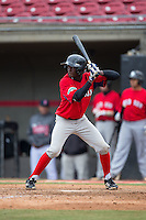 Eric Jenkins (13) of West Columbus High School in Cerro Gordo, North Carolina playing for the Boston Red Sox scout team at the South Atlantic Border Battle at Doak Field on November 1, 2014.  (Brian Westerholt/Four Seam Images)