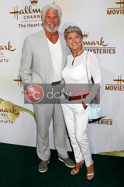 Barry Bostwick, wife<br /> at the Hallmark TCA Summer 2017 Party, Private Residence, Beverly Hills, CA 07-27-17<br /> David Edwards/DailyCeleb.com 818-249-4998