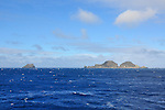 Meyer Islets and Napier Island at the Kermadecs.