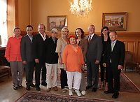 August 27 2012 - Montreal (Qc) CANADA - <br /> The jury of the 2012 World Film Festival at  Montreal City hall.<br /> (Left to right) : Andrei Plakhov,Wang Xueqi i, Michel Cote, Serge Losique, Helen Foutopoulos, Vera Belmont, , Greta Scacchi, Gerald Tremblay,, Goya Toledo,  Kim Dong Ho.<br /> <br /> The World Films Festival 35th edition run til September 2012.<br /> <br /> <br />  File Photo Agence Quebec Presse - Pierre Roussel