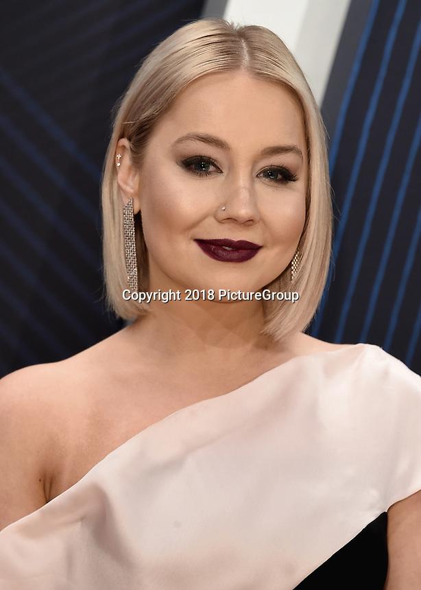 NASHVILLE, TN - NOVEMBER 14:  RaeLynn at the 52nd Annual CMA Awards at the Bridgetone Arena on November 14, 2018 iin Nashville, Tennessee. (Photo by Scott Kirkland/PictureGroup)