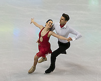 Boston, Massachusetts - March 30, 2016: ISU World Figure Skating Championships Boston 2016 - Dance, at TD Garden.