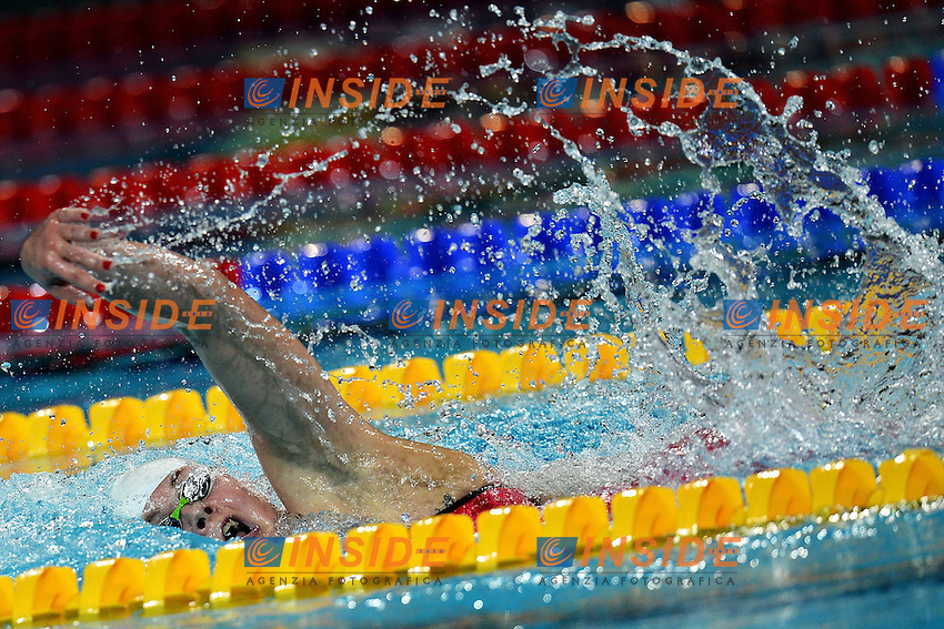 Lotte Friis Denmark Silver Medal Women's 800m Freestyle .Istanbul 13/12/2012 Sinan Erdem Dome.World Swimming Championships Short course 25m Nuoto Istanbul.Foto Andrea Staccioli Insidefoto