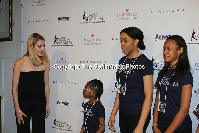 Tanith White - Harlem Figure Skaters  - The 11th Annual Skating with the Stars Gala - a benefit gala for Figure Skating in Harlemon April 11, 2016 on Park Avenue in New York City, New York with many Olympic Skaters and Celebrities. (Photo by Sue Coflin/Max Photos)