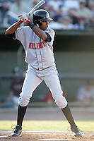 August 11, 2009: Yorman Rodriquez of the Billings Mustangs.The Mustangs are the Pioneer League affiliate for the Cincinnati Reds. Photo by: Chris Proctor/Four Seam Images