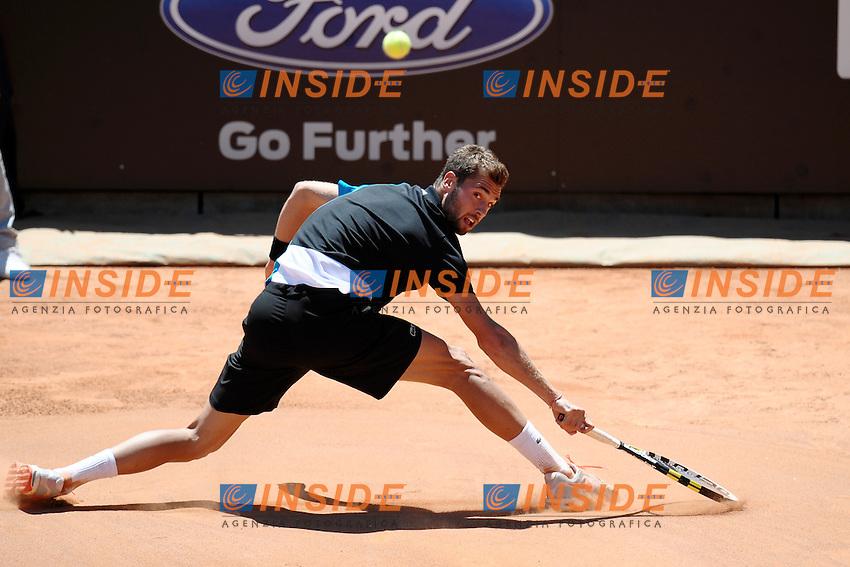 Benoit Paire.Roma 13/05/2013 Foro Italico .Tennis Internazionali d'Italia 2013 .Foto Antonietta Baldassarre Insidefoto