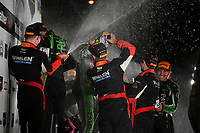 IMSA WeatherTech SportsCar Championship<br /> Motul Petit Le Mans<br /> Road Atlanta, Braselton GA<br /> Saturday 7 October 2017<br /> 31, Cadillac DPi, P, Dane Cameron, Eric Curran, Michael Conway, 2, Nissan DPi, P, Scott Sharp, Ryan Dalziel, Brendon Hartley, 6, ORECA LMP2, P, Helio Castroneves, Simon Pagenaud, Juan Pablo Montoya<br /> World Copyright: Richard Dole<br /> LAT Images<br /> ref: Digital Image RDPLM469