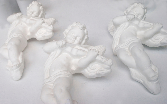 Ceramic Angels, Rouge Shop, Pigalle, Paris, France, Europe