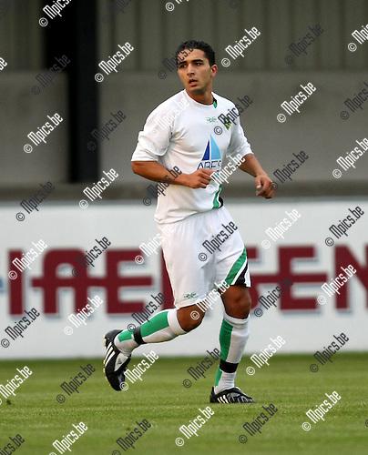 2008-08-16 / Voetbal / Schoten / Imad El Harchouni..Foto: Maarten Straetemans (SMB)