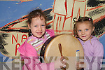 MUSIC MAKERS: Pupils from the Nagle Rier National School in Milltown who took part in a Creative Arts day at the School on Friday last which included art, photography, pottery and the painting of a mural..L/r. Kayleigh Doyle and Gabrielle Coffey..