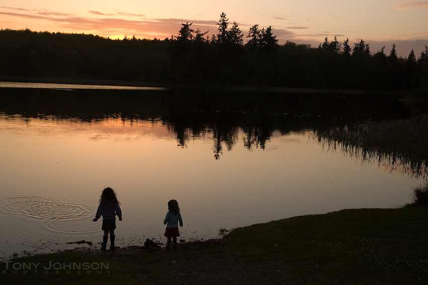 Kids at Shoreline, Buck Lake