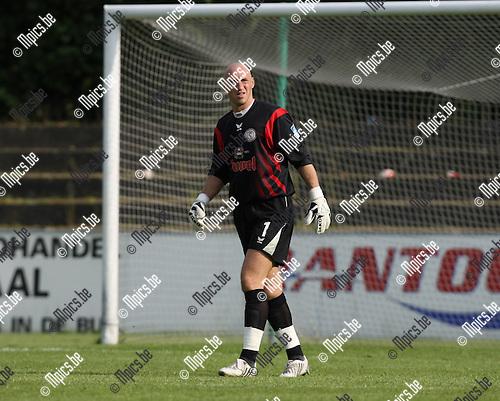 2008-09-21 / Voetbal / Willebroek-Meerhof - Hamoir / Thierry Berghmans..Foto: Maarten Straetemans (SMB)