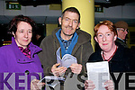 WINNER: Mary and Peter O'Shea (Beaufort) and Kathleen O'Connor Killorglin) were on to a winner at the Kingdom Greyhound Stadium, Tralee on Friday night...........