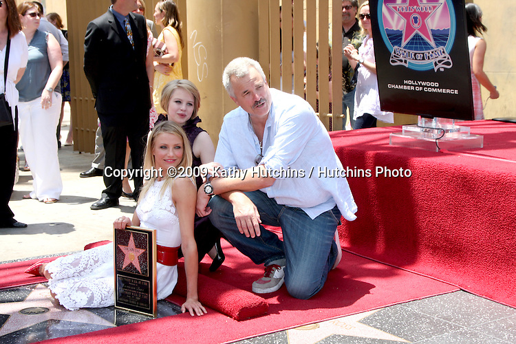 Sofia Vassilieva, Cameron Diaz, & Nick Cassavetes    at the Cameron Diaz Star on the Hollywood Walk of Fame Ceremony  in front of the Egyptian Theater on June 22, 2009.  .©2009 Kathy Hutchins / Hutchins Photo