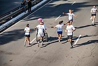 SÃO PAULO,  SP, 31.12.2018 - SÃO-SILVESTRE - Maratonistas durante a Corrida Internacional de São Silvestre na Avenida Paulista em São Paulo nesta segunda-feira, 31(Foto: Bruna Grassi/Brazil Photo Press)